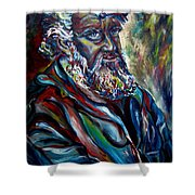 Abraham  Patriarch Shower Curtain