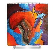 Abs 0446 Shower Curtain