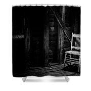 Absentia Shower Curtain