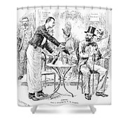Absinthe, 1887 Shower Curtain
