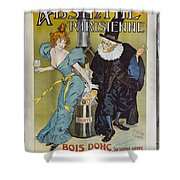 Absinthe Pariaienne Dsc05583 Shower Curtain