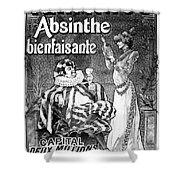 Absinthe Poster, 1892 Shower Curtain