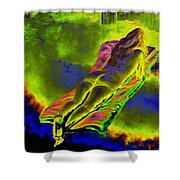 Absorbed By Tales Of Books Shower Curtain