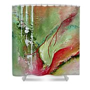 Abstract # 10 - Original Available Shower Curtain