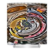 Abstract - Vehicle Recycling Shower Curtain