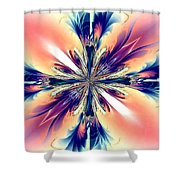 Abstract 012 Shower Curtain