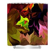 Abstract 012014 Shower Curtain
