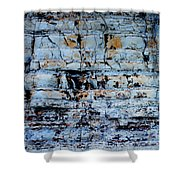 Abstract 01b Shower Curtain