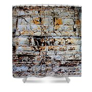 Abstract 01c Shower Curtain