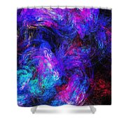 Abstract 021314 Shower Curtain