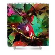 Abstract 022114fa Shower Curtain