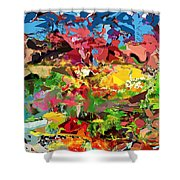 Abstract 022315 Shower Curtain