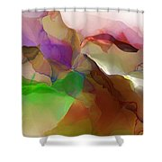 Abstract 030213 Shower Curtain