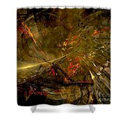 Abstract  0370 - Marucii Shower Curtain
