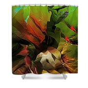 Abstract 050713 Shower Curtain