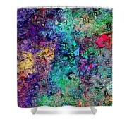 Abstract 061313 Shower Curtain