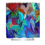 Abstract 062713 Shower Curtain