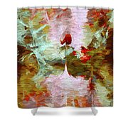 Abstract Series 07 Shower Curtain