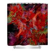 Abstract Series 08 Shower Curtain