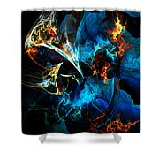 Abstract 080613 Shower Curtain