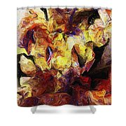 Abstract 082413 Shower Curtain