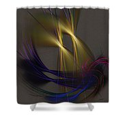 Abstract 090613 Shower Curtain