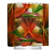 Abstract 092313 Shower Curtain