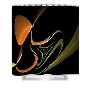 Abstract 092713 Shower Curtain