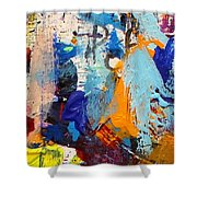Abstract 10 Shower Curtain by John  Nolan