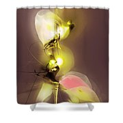 Abstract 100813 Shower Curtain
