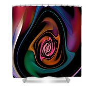 Abstract 100913 Shower Curtain
