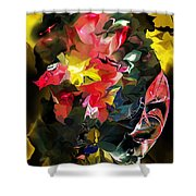 Abstract 102513 Shower Curtain