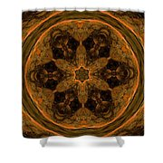 Abstract 105b Shower Curtain