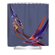 Abstract 111913 Shower Curtain