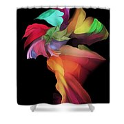 Abstract 112313 Shower Curtain