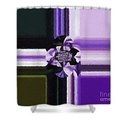 Abstract 115 Shower Curtain