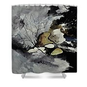 Abstract 1189963 Shower Curtain