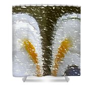Abstract 121 Shower Curtain