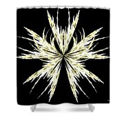 Abstract 127 Shower Curtain