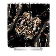Abstract 131 Shower Curtain