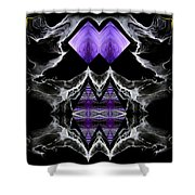 Abstract 136 Shower Curtain