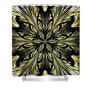 Abstract 146 Shower Curtain