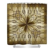 Abstract 15-02 Shower Curtain