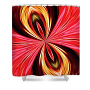 Abstract 151 Shower Curtain