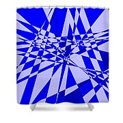 Abstract 152 Shower Curtain