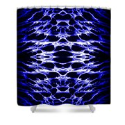 Abstract 159 Shower Curtain