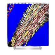 Abstract #16 Shower Curtain