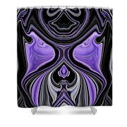 Abstract 166 Shower Curtain by J D Owen