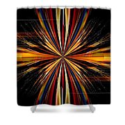 Abstract 171 Shower Curtain