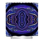 Abstract 172 Shower Curtain by J D Owen